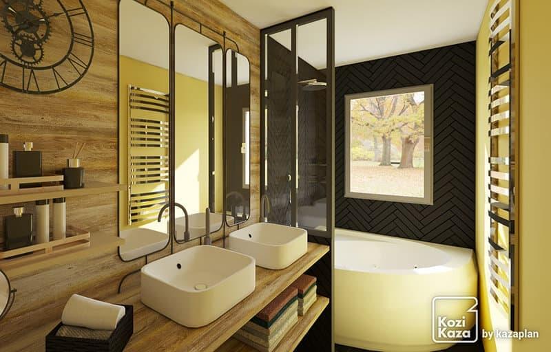 Plan Salle de Bain 3D - Logiciel Gratuit en Ligne | Kozikaza